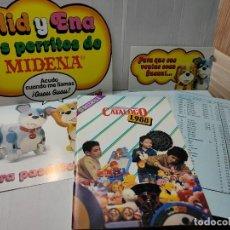 Juguetes antiguos: MID Y ENA DE MIDENA AÑO 1988 PÓSTER,CATALOGO,LISTA PRECIOS Y FOLLETO. Lote 269991373