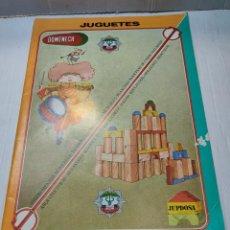 Juguetes antiguos: CATALOGO JUGUETES DOMENECH 1984 VALENCIA. Lote 269991698