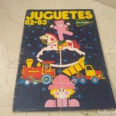 Juguetes antiguos: ANTIGUO CATALOGO JUGUETES AÑO 1982-83 EL CORTE INGLÉS. AIRGAM, NANCY, FAMOBIL, GUISVAL, CONGOST ETC. Lote 270612343