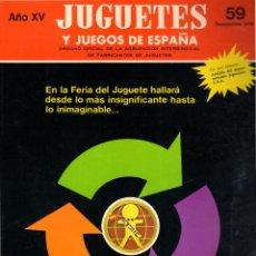 Jouets Anciens: REVISTA JUEGOS Y JUGUETES DE ESPAÑA. Nº 59. 1976. Lote 275273343