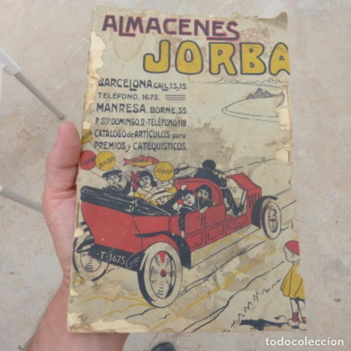 ANTIGUO CATALOGO DE JUGUETES Y OTRAS MERCANCIAS , ALMACENES JORBA , BARCELONA MANRESA (Juguetes - Catálogos y Revistas de Juguetes)