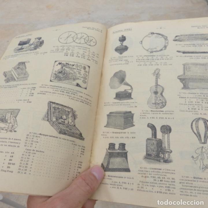 Juguetes antiguos: Antiguo catalogo de juguetes y otras mercancias , almacenes jorba , barcelona manresa - Foto 8 - 275671073