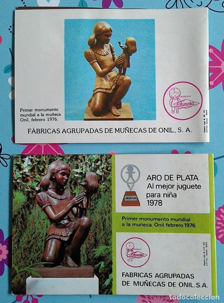 Juguetes antiguos: 2 CATÁLOGOS DE LA MUÑECA LESLY DE FAMOSA - SIN USO (1977 y 1978) - Foto 4 - 277145783