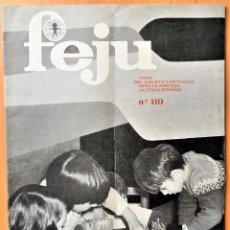 Giocattoli antichi: REVISTA FEJU. NUMERO 110 - AÑO 1968 . FERIA DEL JUGUETE DE VALENCIA. ¡OCASION !. Lote 278578168