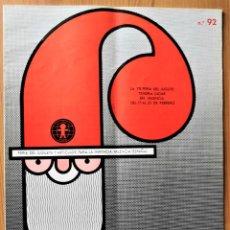 Giocattoli antichi: REVISTA FEJU. NUMERO 92 - AÑO 1968 . FERIA DEL JUGUETE DE VALENCIA. ¡OCASION !. Lote 278580323
