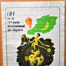 Giocattoli antichi: REVISTA FEJU. AÑO 1980 .NUMNERO EXTRA DEDICADO A IBI. FERIA DEL JUGUETE DE VALENCIA. ¡OCASION !. Lote 278580863