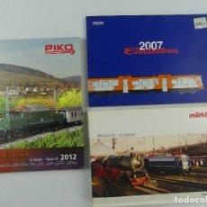 Jouets Anciens: CATALOGOS PIKO 2012,ELECTROTREN 2007 Y MARKLIN. Lote 285375543
