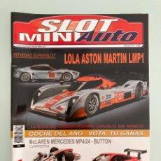 Juguetes antiguos: SLOT MINIAUTO 74, FORD GT40 CABRIO LM 65, BISCUTER 100, PORSCHE 911-997 GT3, ASTON MARTIN DBR9 GULF. Lote 285513483