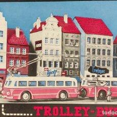 Jouets Anciens: CATALOGO DE JUGUETES - TROLLEY-BUS H0 - EN ALEMAN. Lote 286301283