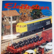 "Juguetes antiguos: 1994 CATÁLOGO ""ELECTROTREN"" HO 1:87 ""TITAN"" ""LIMA"" ""RIVAROSSI"" ""POCHER"" ""PRALINÉ"" ""HELJAN"". Lote 287364973"