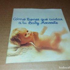 Jouets Anciens: CATALOGO BABY MOCOSETE TAMAÑO GRANDE CONSTA DE 35 PAGINAS. Lote 287573013