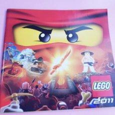 Juguetes antiguos: CATÁLOGO-LEGO 2011-COLECCIONISTAS-DESCATALOGADO-NUEVO-COLECCIONISTAS-75 PÁGINAS-VER FOTOS. Lote 287881543