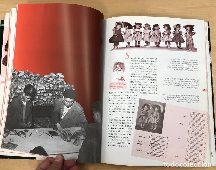 Juguetes antiguos: LA ESPAÑA DE MARIQUITA PEREZ. CONSUELO YUBERO - JAVIER CONDE. EL PAIS AGUILAR 1996 - Foto 3 - 288492058