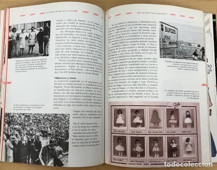 Juguetes antiguos: LA ESPAÑA DE MARIQUITA PEREZ. CONSUELO YUBERO - JAVIER CONDE. EL PAIS AGUILAR 1996 - Foto 5 - 288492058