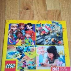 Juguetes antiguos: CATÁLOGO LEGO ENERO-MAYO 2020. Lote 288536918