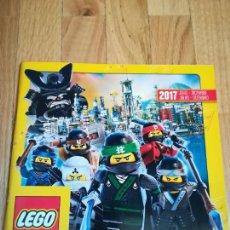 Juguetes antiguos: CATÁLOGO LEGO JULIO-DICIEMBRE 2017. Lote 288537353