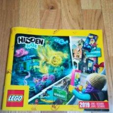 Juguetes antiguos: CATÁLOGO LEGO JUNIO-DICIEMBRE 2019. Lote 288537553