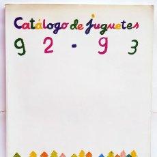 Giocattoli antichi: CATÁLOGO DE JUGUETES DE EL CORTE INGLÉS 92-93. Lote 289017303