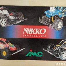 Juguetes antiguos: CATÁLOGO NIKKO 1995. Lote 293364743