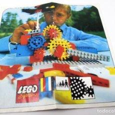 Juguetes antiguos: INSTRUCCIONES MONTAJE LEGO SYSTEM - 800 / 801. Lote 297373813