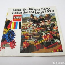 Juguetes antiguos: CATÁLOGO LEGO SYSTEM 1970 EN ALEMÁN. Lote 297378308