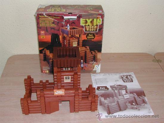 EXIN WEST - FORT APACHE (Juguetes - Marcas Clásicas - Exin)