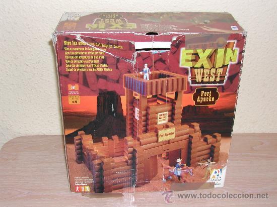 Juguetes antiguos Exin: EXIN WEST - Fort Apache - Foto 7 - 26785559