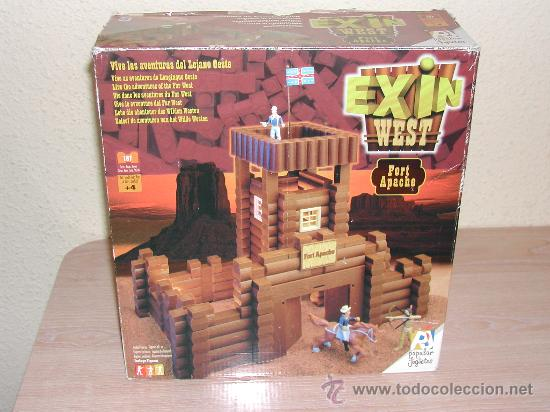 Juguetes antiguos Exin: EXIN WEST - Fort Apache - Foto 9 - 26785559