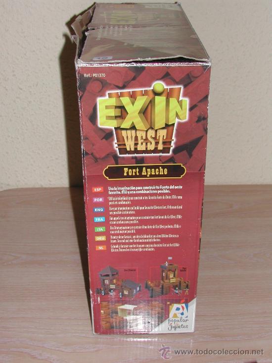 Juguetes antiguos Exin: EXIN WEST - Fort Apache - Foto 10 - 26785559