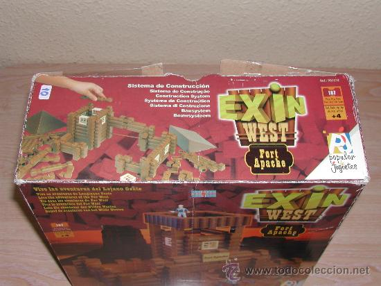 Juguetes antiguos Exin: EXIN WEST - Fort Apache - Foto 11 - 26785559