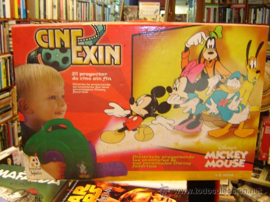 CINE EXIN MICKEY MOUSE (Juguetes - Marcas Clásicas - Exin)
