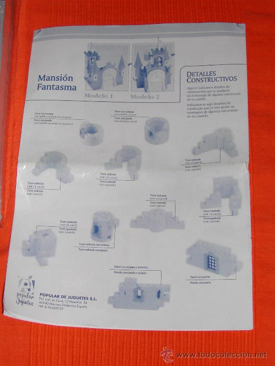 Juguetes antiguos Exin: EXIN CASTILLOS - Mansion Fantasma - Foto 12 - 29792379