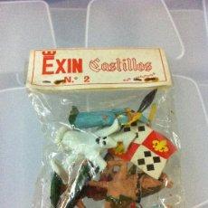 Juguetes antiguos Exin: FIGURAS N.2 EXIN CASTILLOS. Lote 30472985