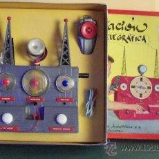 Juguetes antiguos Exin - Exin Juguete.Juego Exin. Estación Radiotelegráfica. Dibujos de Sabatés. - 34354909