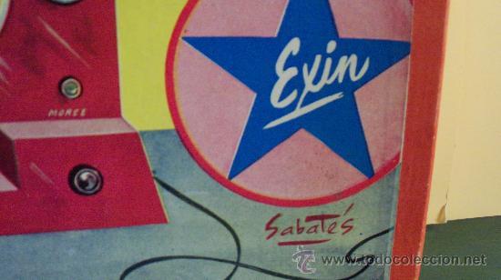 Juguetes antiguos Exin: Exin Juguete.Juego Exin. Estación Radiotelegráfica. Dibujos de Sabatés. - Foto 3 - 34354909