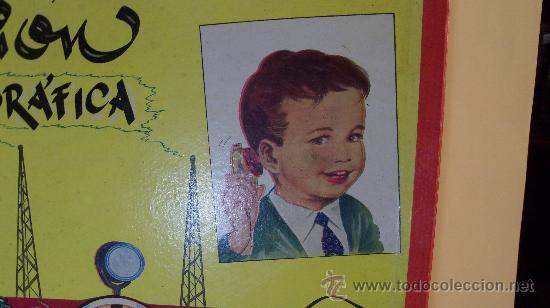 Juguetes antiguos Exin: Exin Juguete.Juego Exin. Estación Radiotelegráfica. Dibujos de Sabatés. - Foto 7 - 34354909