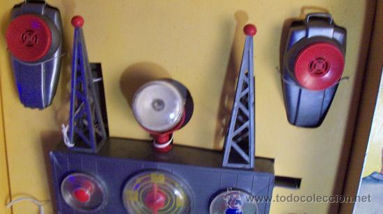 Juguetes antiguos Exin: Exin Juguete.Juego Exin. Estación Radiotelegráfica. Dibujos de Sabatés. - Foto 8 - 34354909