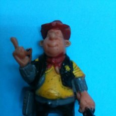 Juguetes antiguos Exin: FIGURA EXIN WEST SHERIFF. Lote 35797581