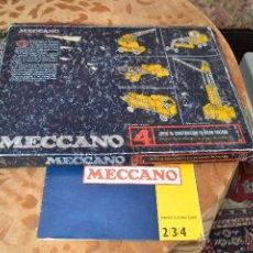 Juguetes antiguos Exin: MECCANO 4 EXIN. Lote 39725238