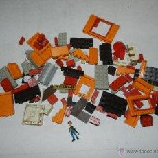 Juguetes antiguos Exin: (M) EXIN - LOTE DE 119 PIEZAS DE EXIN, ESTAN EN BUEN ESTADO. Lote 42267174