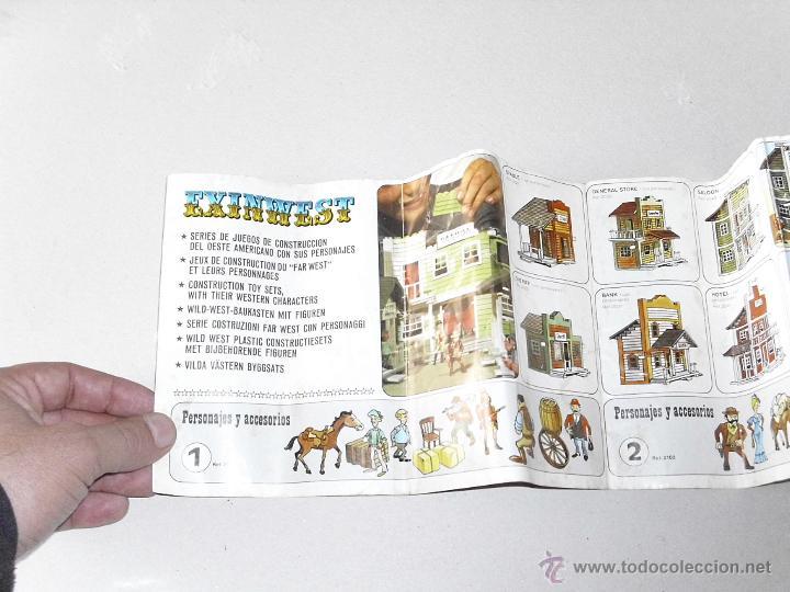 Juguetes antiguos Exin: Exin West Catalogo años 70 exin-lines s.a Barcelona - Foto 2 - 42666874