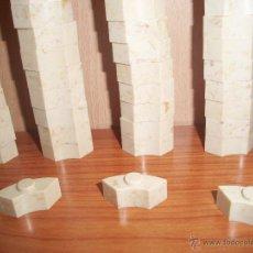 Brinquedos antigos Exin: EXIN CASTILLOS: LOTE DE 103 PIEZAS CURVAS PARA ALMENAS Y TORREONES.. Lote 206533002