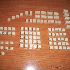 Brinquedos antigos Exin: EXIN CASTILLOS: LOTE DE PIEZAS ESPECIALES, 106 PIEZAS EN TOTAL. Lote 206532623