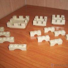 Brinquedos antigos Exin: EXIN CASTILLOS: LOTE VARIADO DE 13 PIEZAS. Lote 206532961