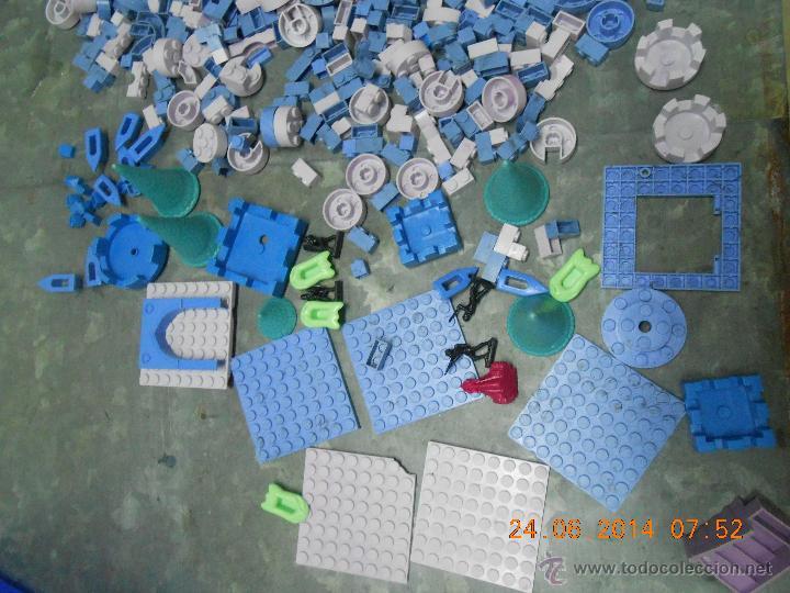Juguetes antiguos Exin: LOTE DE PIEZAS DE EXIN CASTILLOS 1000 PIEZAS FIGURAS Y SOLDADOS - Foto 3 - 44527773