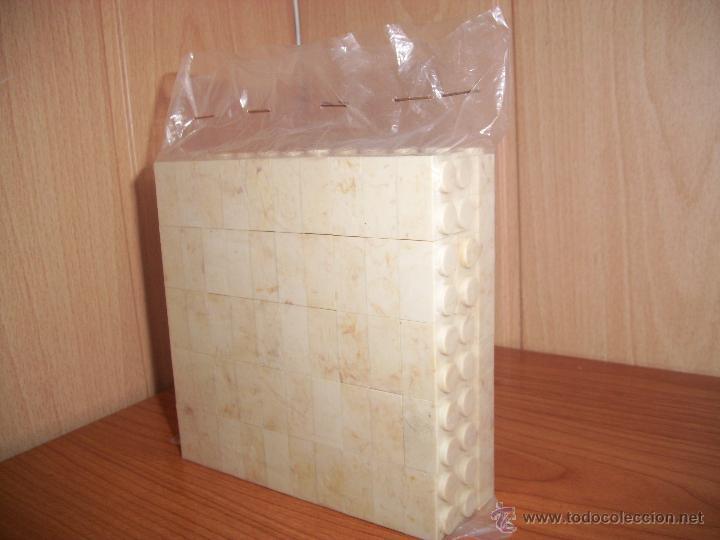 EXIN CASTILLOS:_ BUEN LOTE DE 150 PIEZAS DE LADRILLOS DOBLES (Juguetes - Marcas Clásicas - Exin)