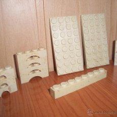 Juguetes antiguos Exin: EXIN CASTILLOS: BUEN LOTE DE 14 PIEZAS VARIADAS. Lote 118762242