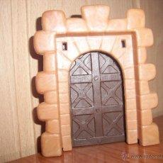 Brinquedos antigos Exin: EXIN CASTILLOS AÑOS 70: PUERTA PRINCIPAL. Lote 246837505