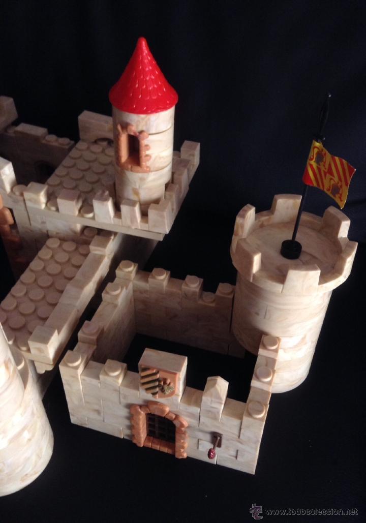 Juguetes antiguos Exin: gran alcazar de exin castillos años 70 - Foto 3 - 45135443