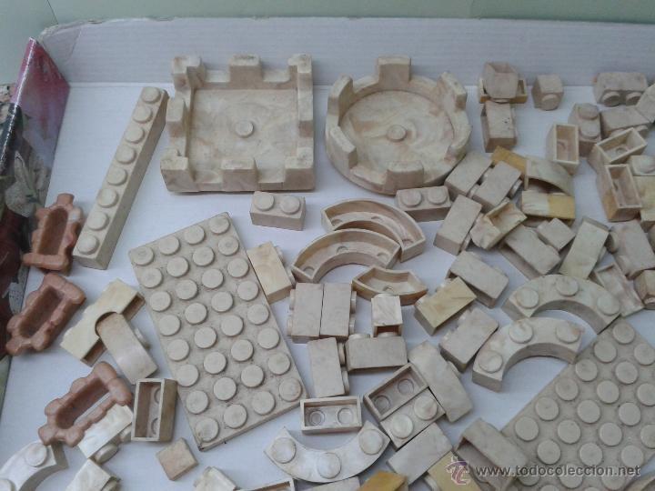 Juguetes antiguos Exin: LOTE DE 165 PIEZAS VARIADAS EXIN CASTILLOS ORIGINAL AÑOS 70 80 ACCESORIOS DE CONSTRUCCION - Foto 2 - 270608533